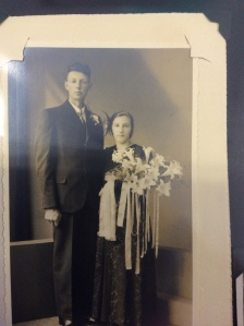 Grandpa and Grandma's wedding