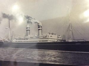 The SS Volendam